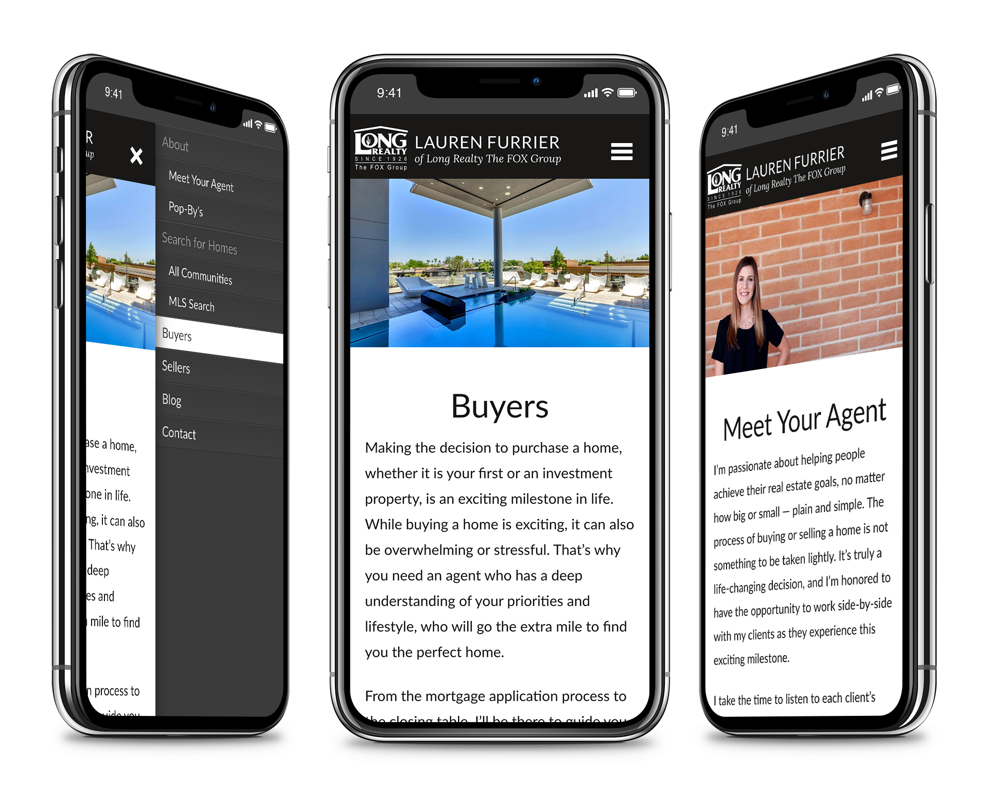 Lauren Furrier realty website