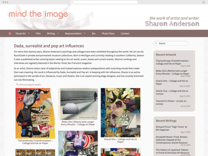 Mind the Image website