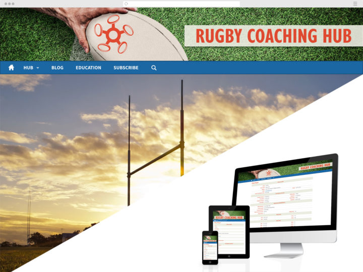 Rugby Coaching Hub website
